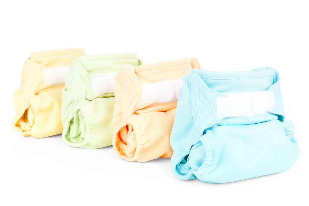 extra diapers and nappies